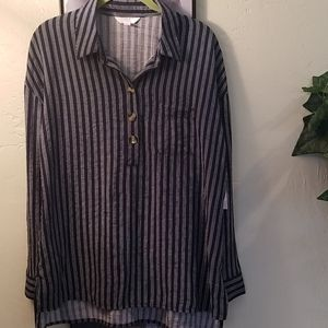 Time and Tru Popover Tunic Size Small NWT